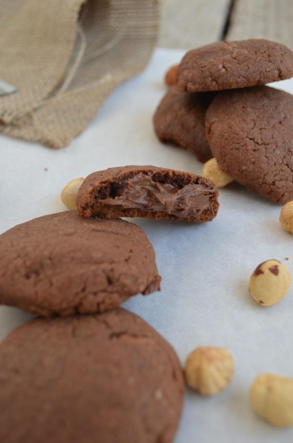 Nutella Stuffed Cookies - Only 3 Ingredients easy fast super Cool Artisan Γαβριήλ Νικολαίδης