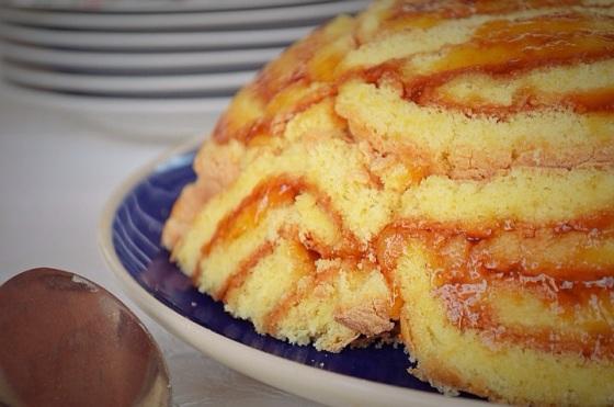 Italian Cake Τorta, τούρτα, σεμιφρέντο, μαρμελάδα, παντεσπάνι, Γαβριήλ Νικολαΐδης, cool artisan Semifreddo