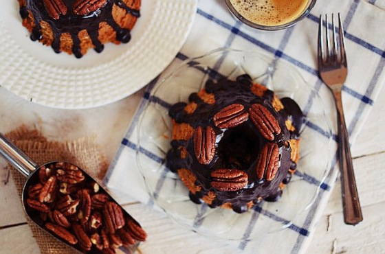 Pecan and Coffee Cake Recipe,  chocolate, food styling, κέικ, καφέ, ξηρούς καρπούς, πεκάν, συνταγή, food blog, cool artisan, Γαβριήλ Νικολαΐδης