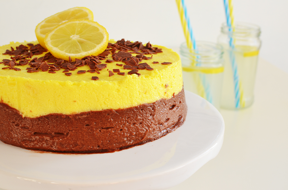 Chocolate and Lemon Curd Mousse Cake Recipe | Cool Artisan